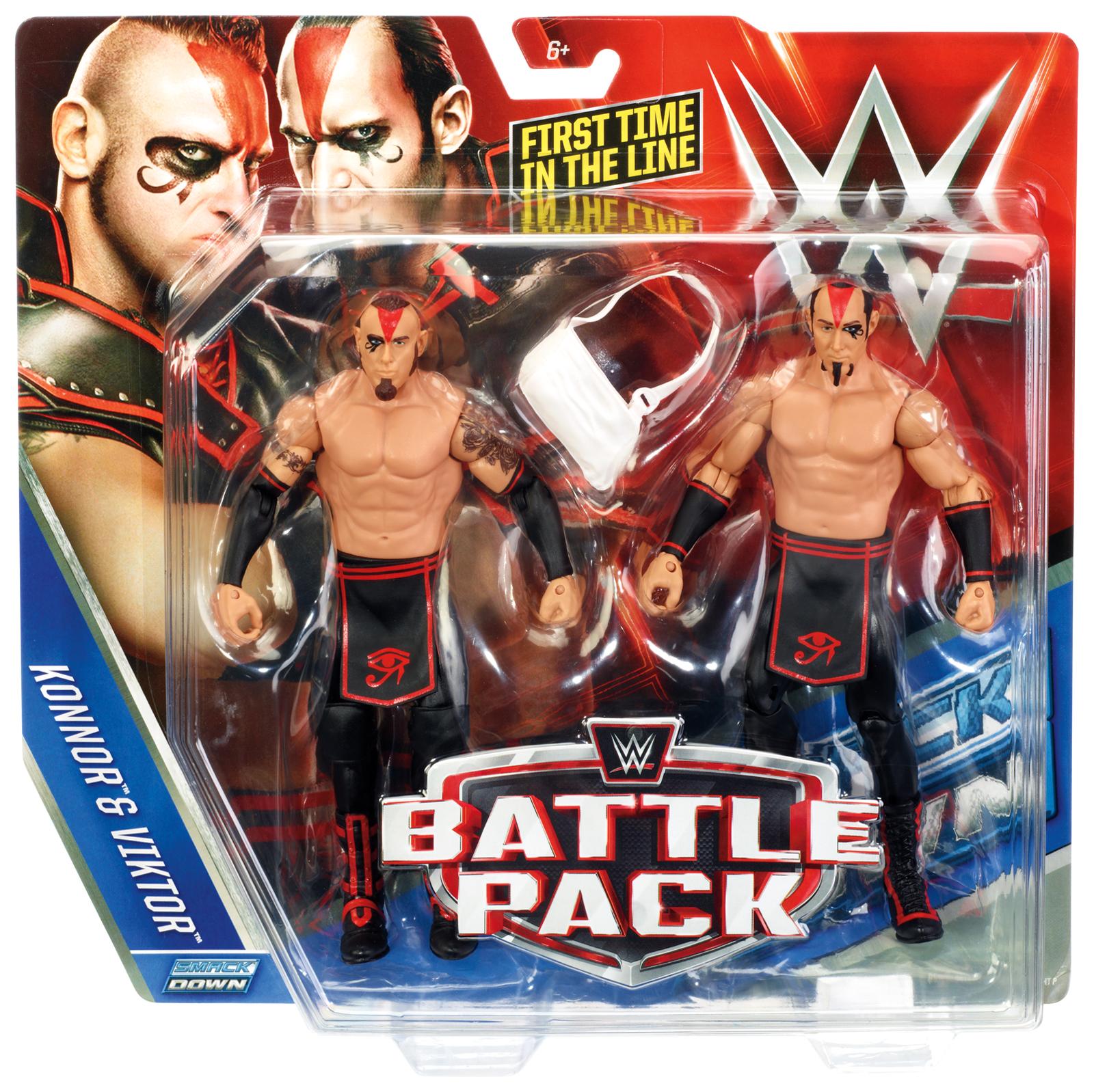 WWE The Ascension (Konnor & Viktor) - WWE Battle Packs 37 Toy Wrestling Action Figures