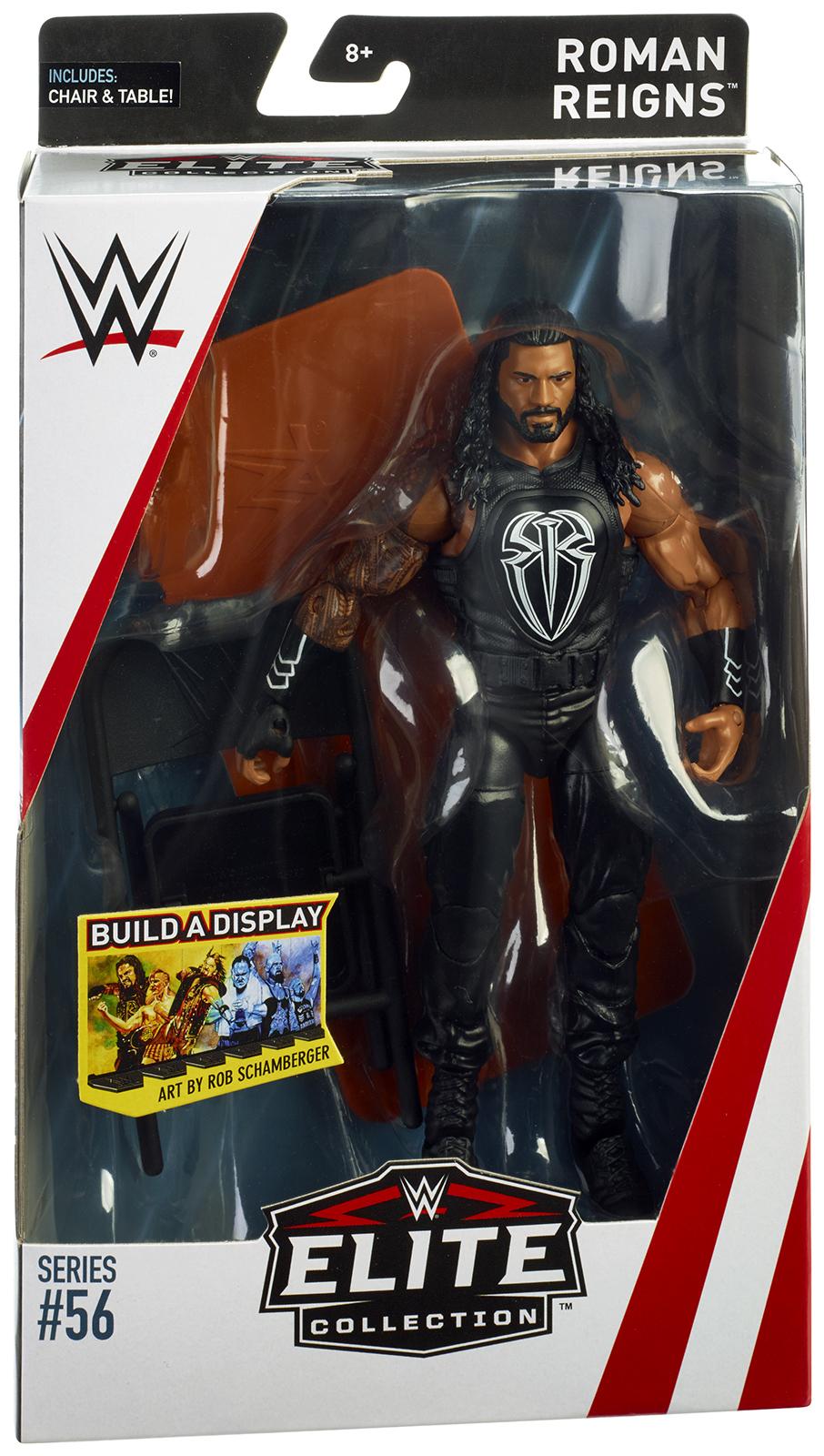 WWE Roman Reigns -  Elite 56 Toy Wrestling Action Figure PartNumber: A015516959 KsnValue: 1667289 MfgPartNumber: ELITE56-03