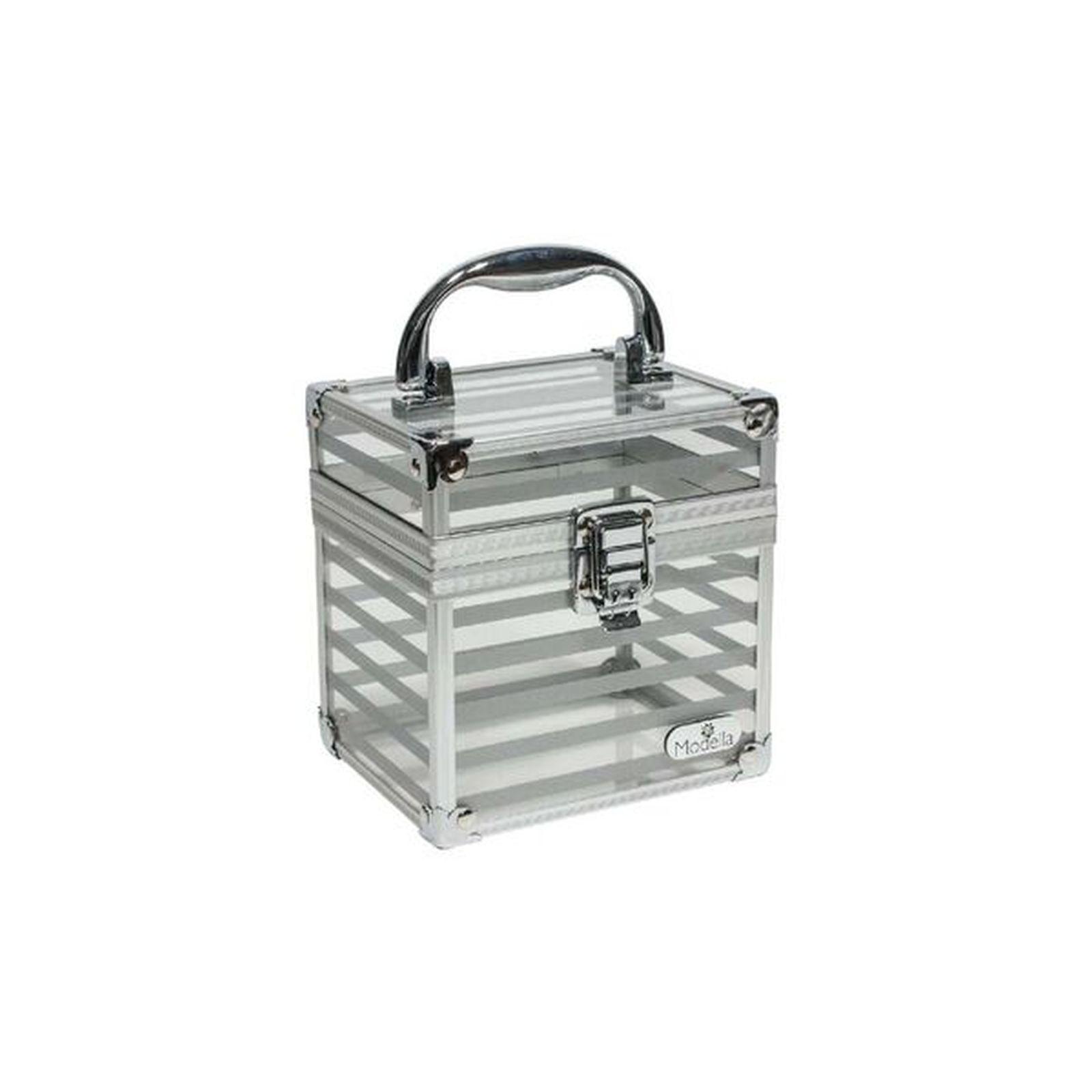 MODELLA Hardcase Printed Silver Cube, Size: Small, Multi color im test