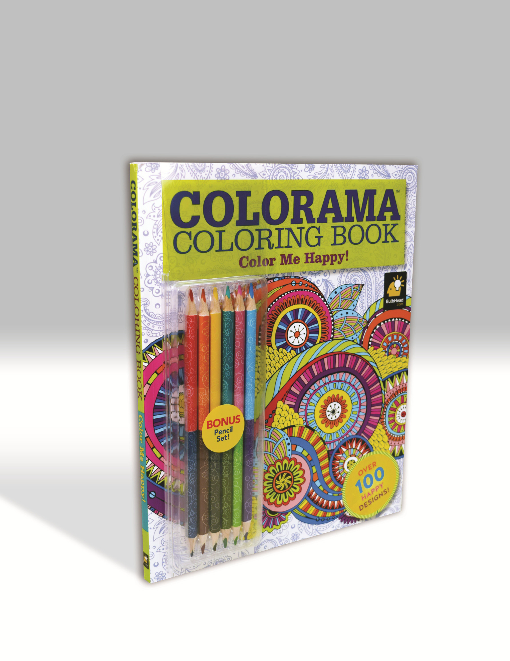 ISBN 9780990963592 Product Image For Colorama Color Me Happy Adult Coloring Book