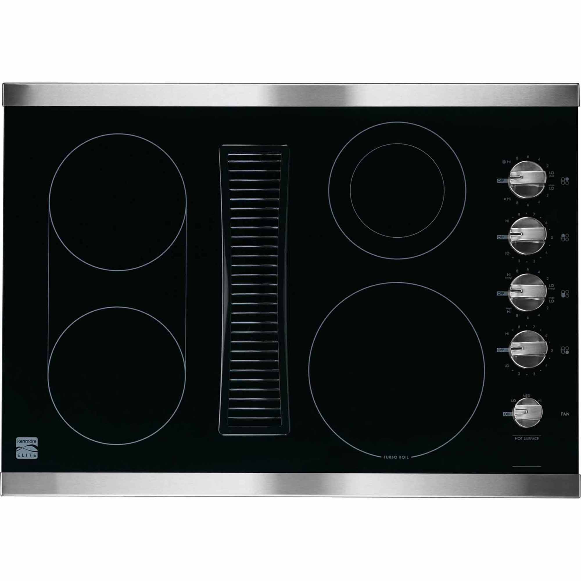 Kenmore Elite 44113 30 Quot Downdraft Electric Cooktop