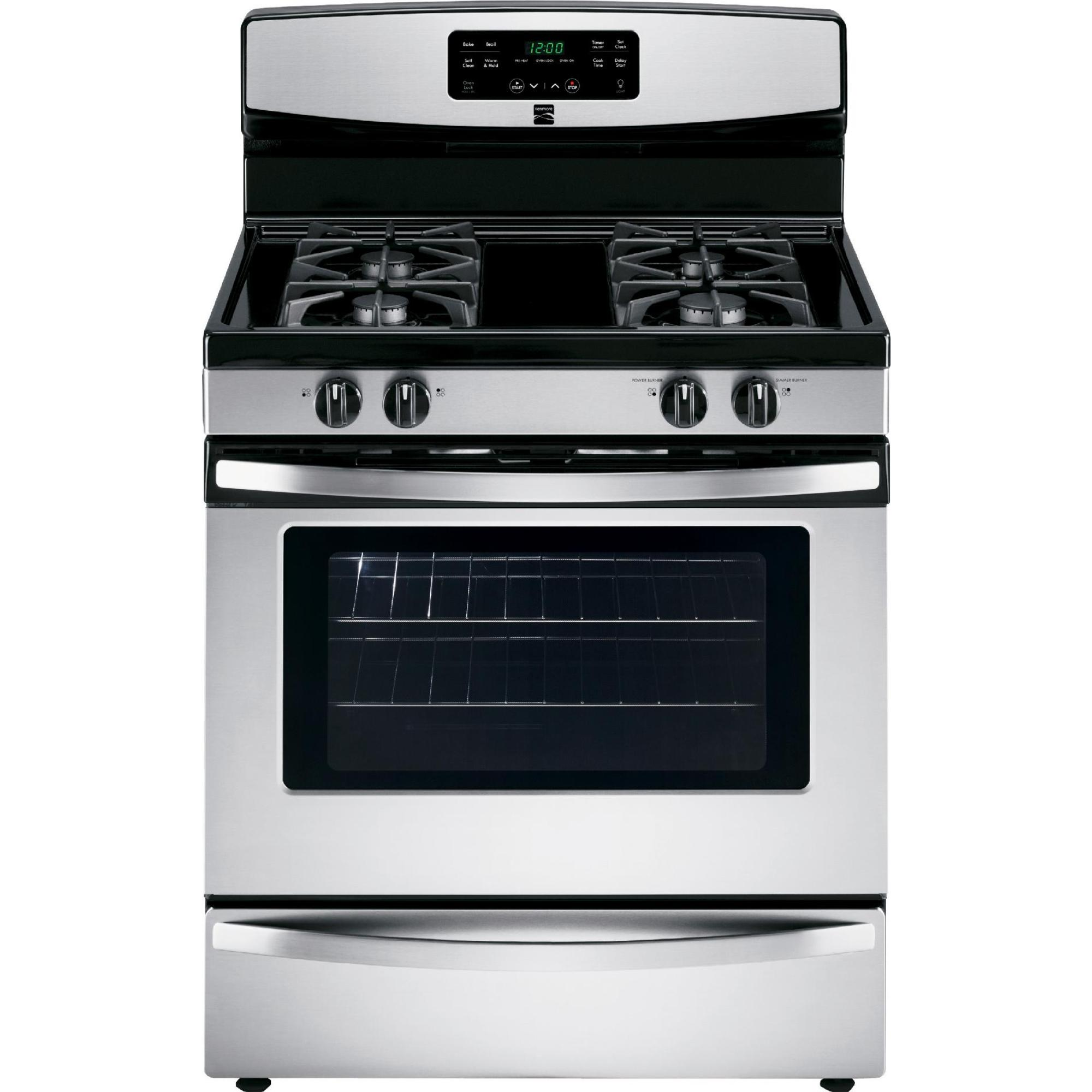 Stainless Steel Stove ~ Kenmore  cu ft freestanding gas range