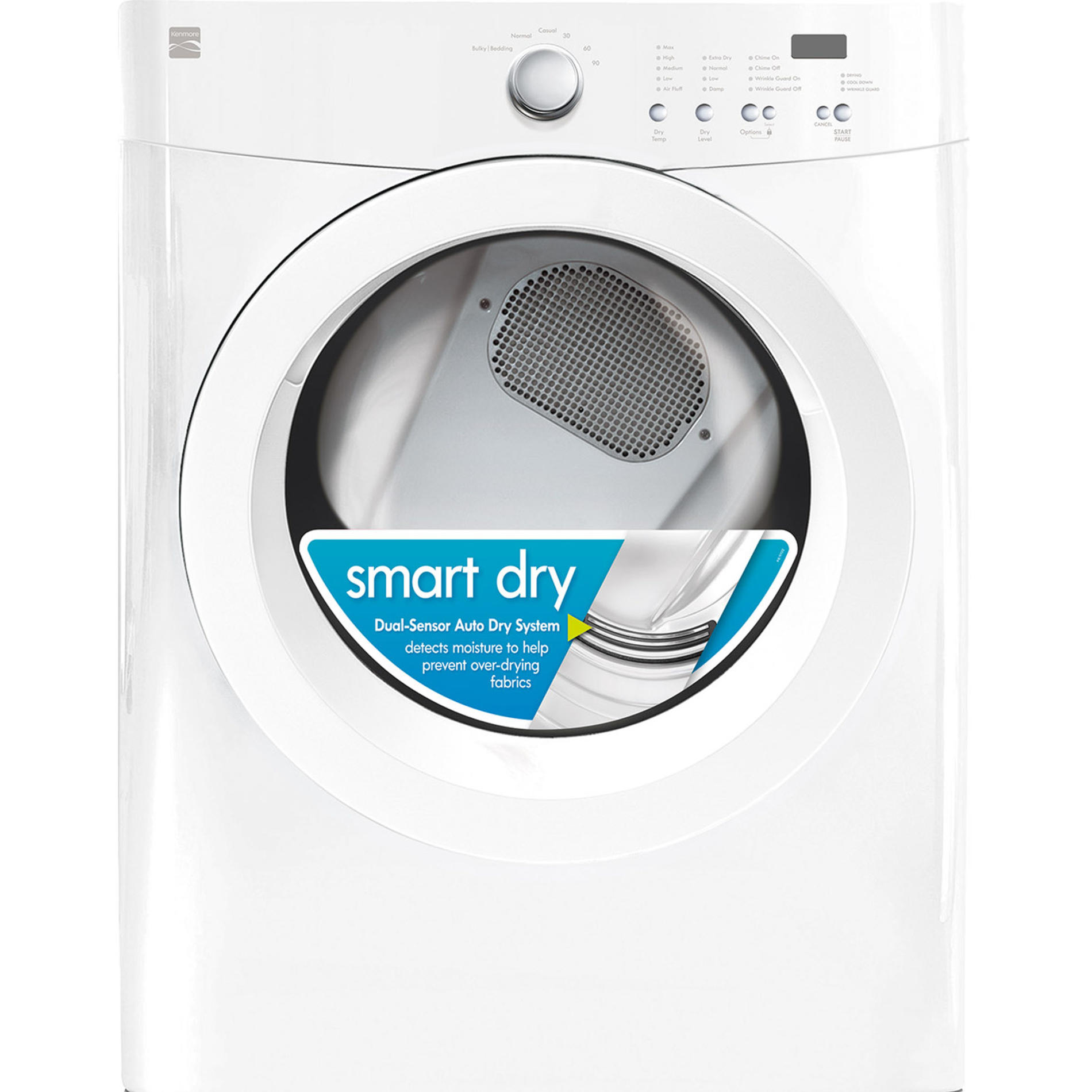 Kenmore-91122-7-0-cu-ft-Gas-Dryer-w-Wrinkle-Guard-White