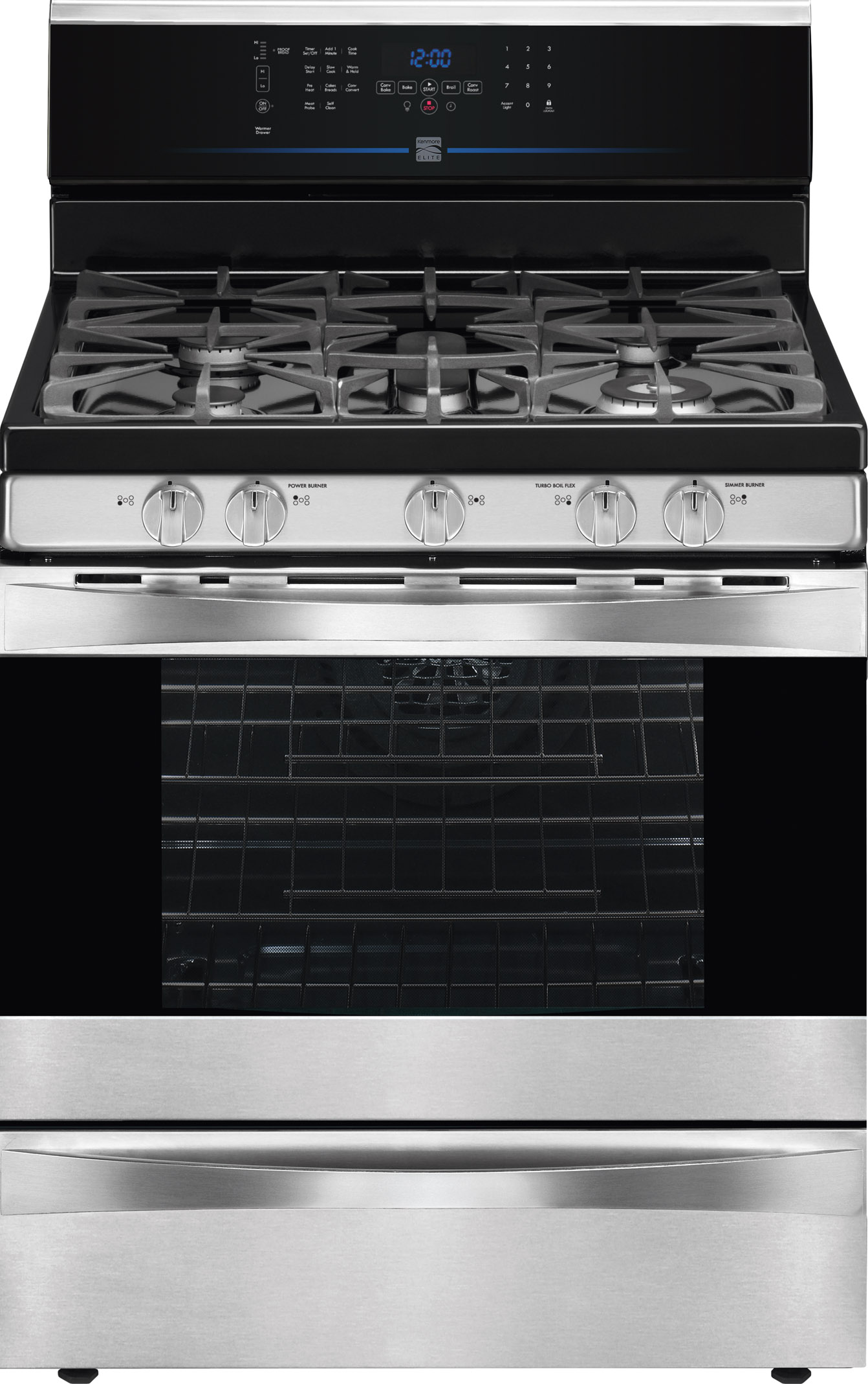 Kenmore-Elite-75333-5-6-cu-ft-Gas-Range-w-True-Convection-Stainless-Steel