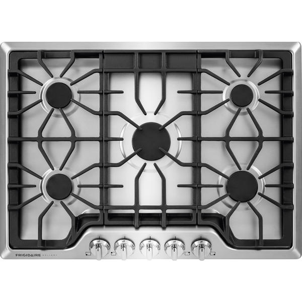 """Frigidaire Gallery FGGC3047QS  30"""" Gas Cooktop - Stainless Steel"""