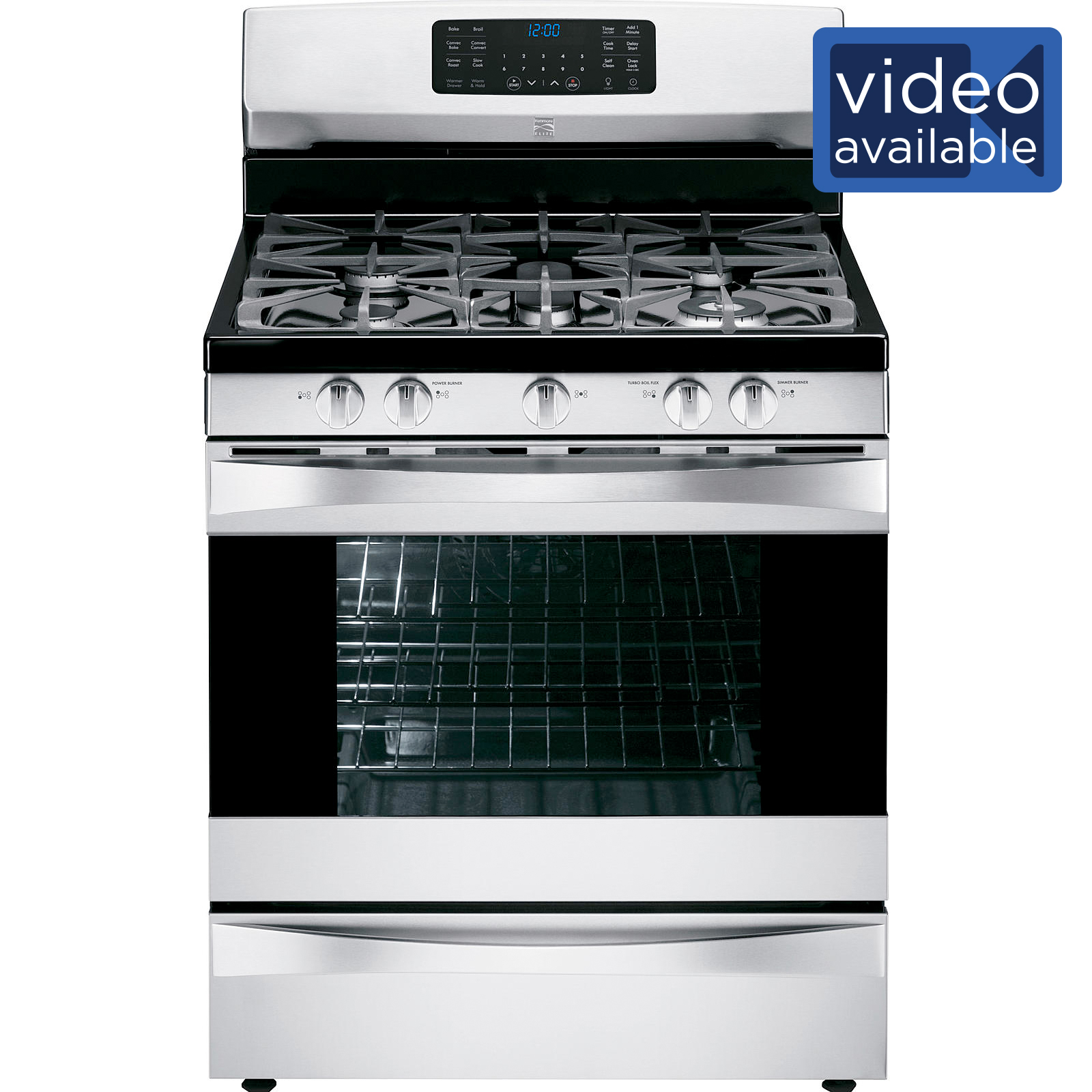 Could be the oven won't reach the right temperature or the stove heating element won't turn off. Whatever the 'won't,' it gets in the way of cooking and, therefore, life. Repair Clinic is here to help you fix your Kenmore stove, range or oven, so you can get back to the business of making meals, or, we might say, living your life.