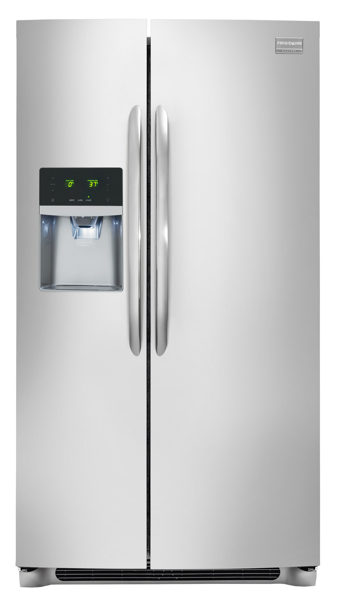 Frigidaire Gallery FGHS2655PF 25.6 Cu. Ft. Side-by-Side Refrigerator - Stainless Steel