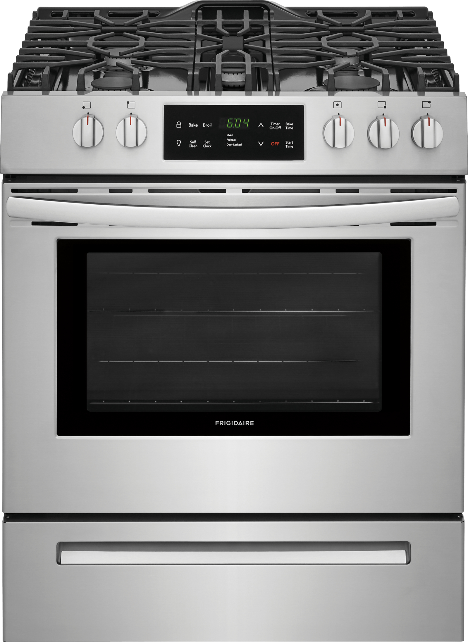 Frigidaire Ffgh3054us 30 Front Control Freestanding Gas