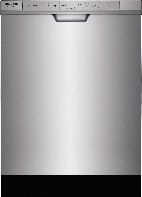 frigidaire fgcd2444sa 248221 built in dishwasher with orbitclean174 spray