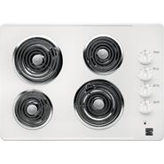 """Kenmore 41302 30"""""""" Electric Coil Cooktop - White"""