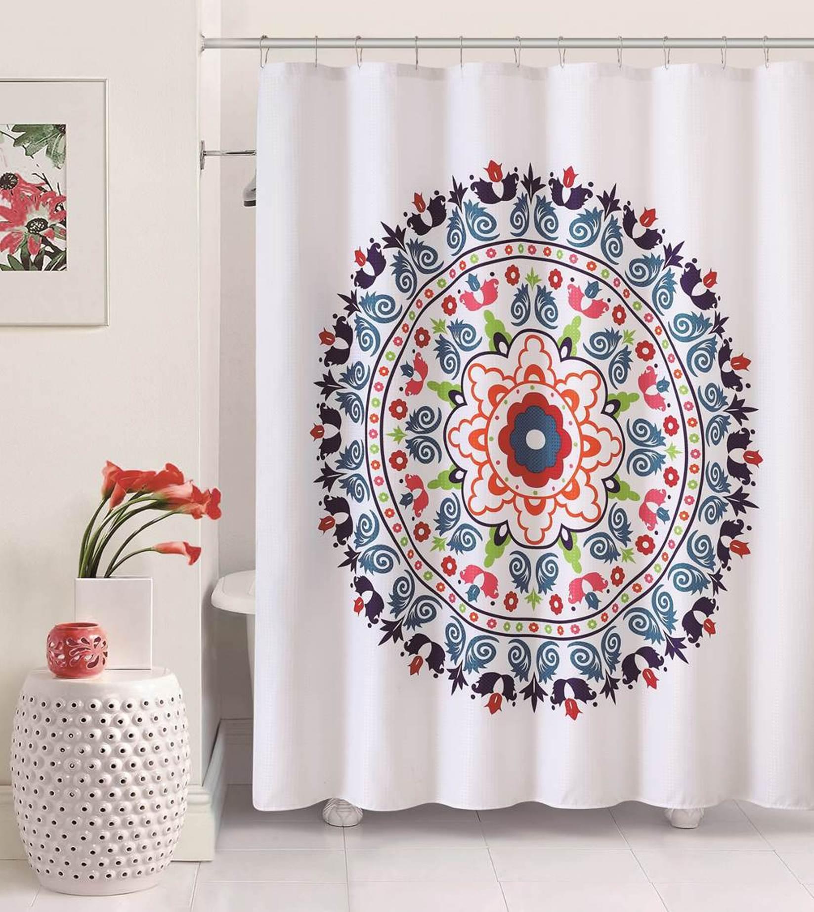 Dayton 72x72 Shower Curtain