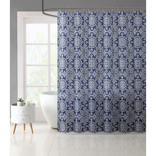 Essential Home Geo Shower Curtain