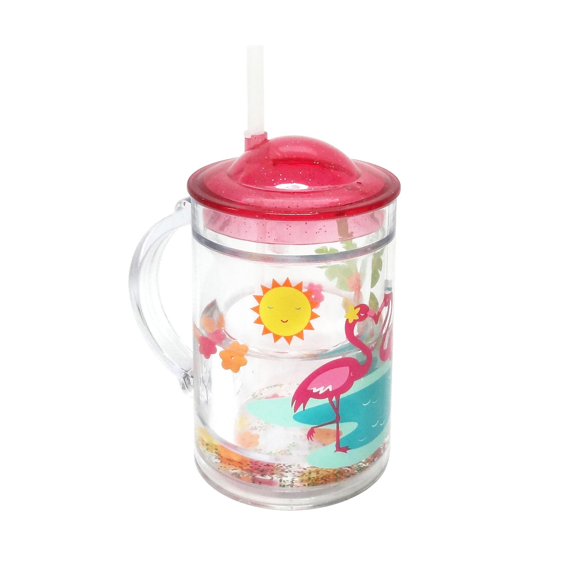 Essential Home Flamingo Shaky Cup