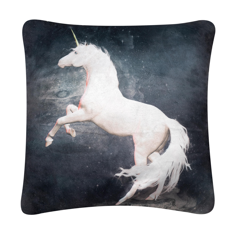 "Image of """"""18"""""""" Unicorn Printed Pillow"""""""