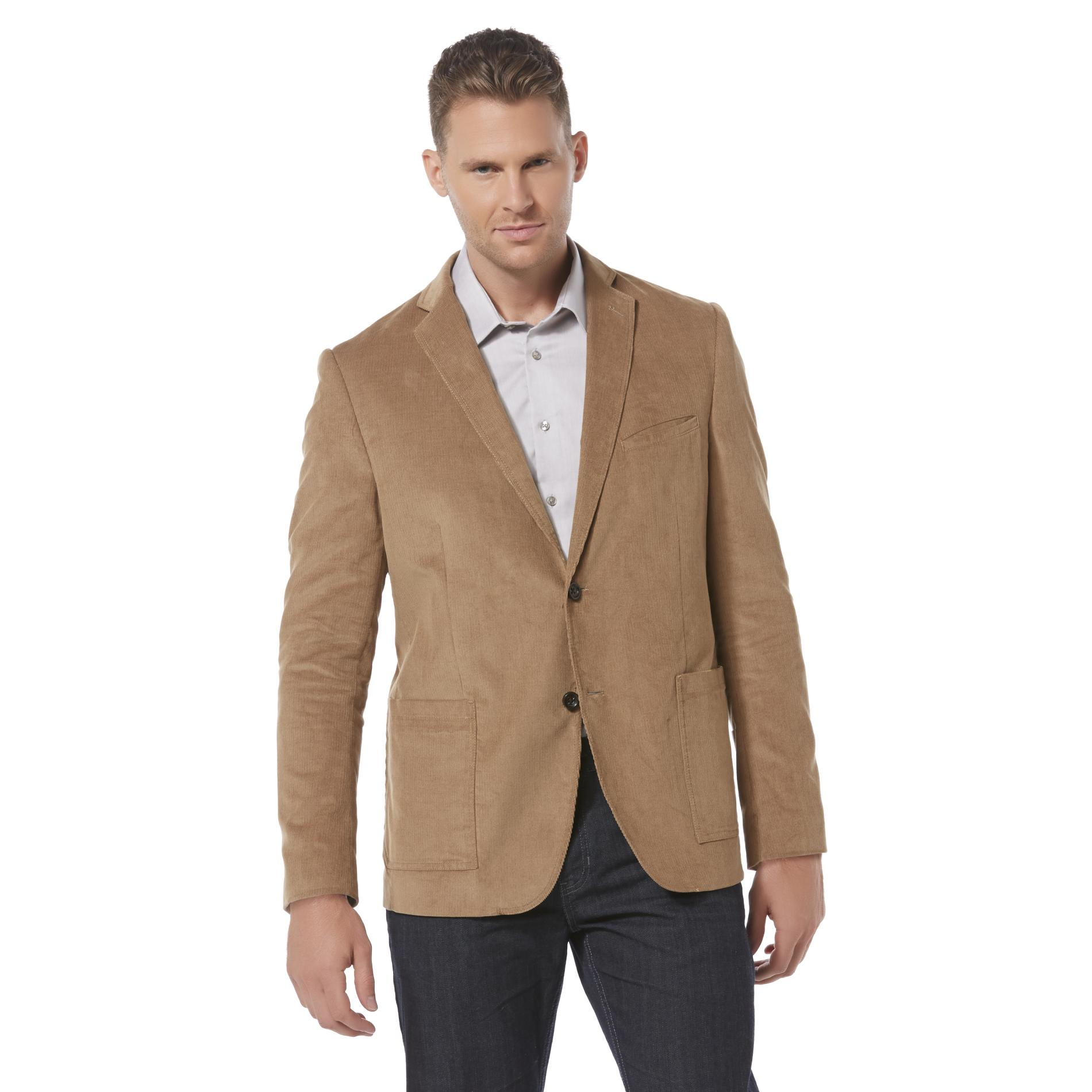 Unlike leather, corduroy does not look better with age. Retire anything with too-worn cuffs, or get messed-up elbows updated with a suede patch. If it's too far gone (and you should know when that happens), pick up a crisp new blazer with an updated fit.