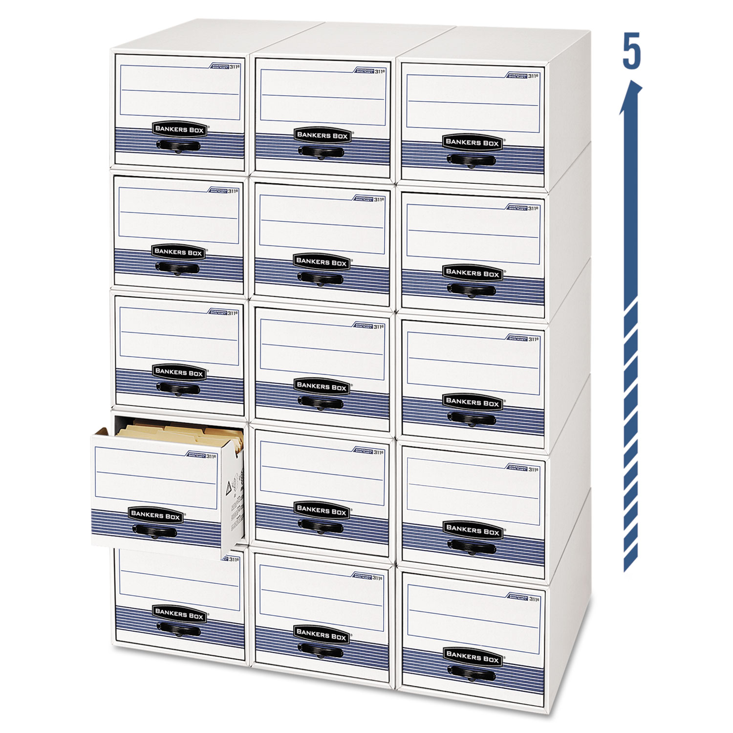 Bankers Box FEL00302 STOR/DRAWER Steel Plus Storage Box Check Size Wire  sc 1 st  Kmart & File Boxes: Buy File Boxes In Office Supplies at Kmart