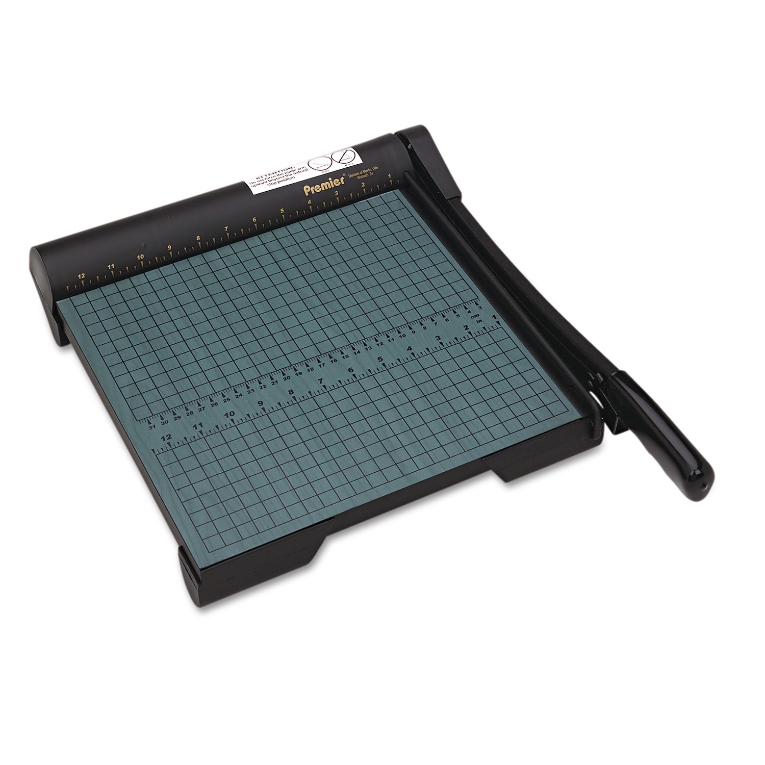 Premier Heavy-Duty Green Board Wood Trimmer, Cut Up to 20 Sheets at One Time, Steel Blades, 12 Inches, Green (PREW12) PartNumber: 05037709000P