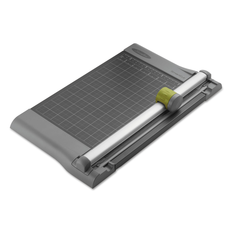 Swingline SWI9512 SmartCut Pro Metal 10-Sheet Rotary Trimmer, Metal Base, 10 1/4 x 17 1/4 PartNumber: 05003900000P KsnValue: 43855964 MfgPartNumber: SWI9512