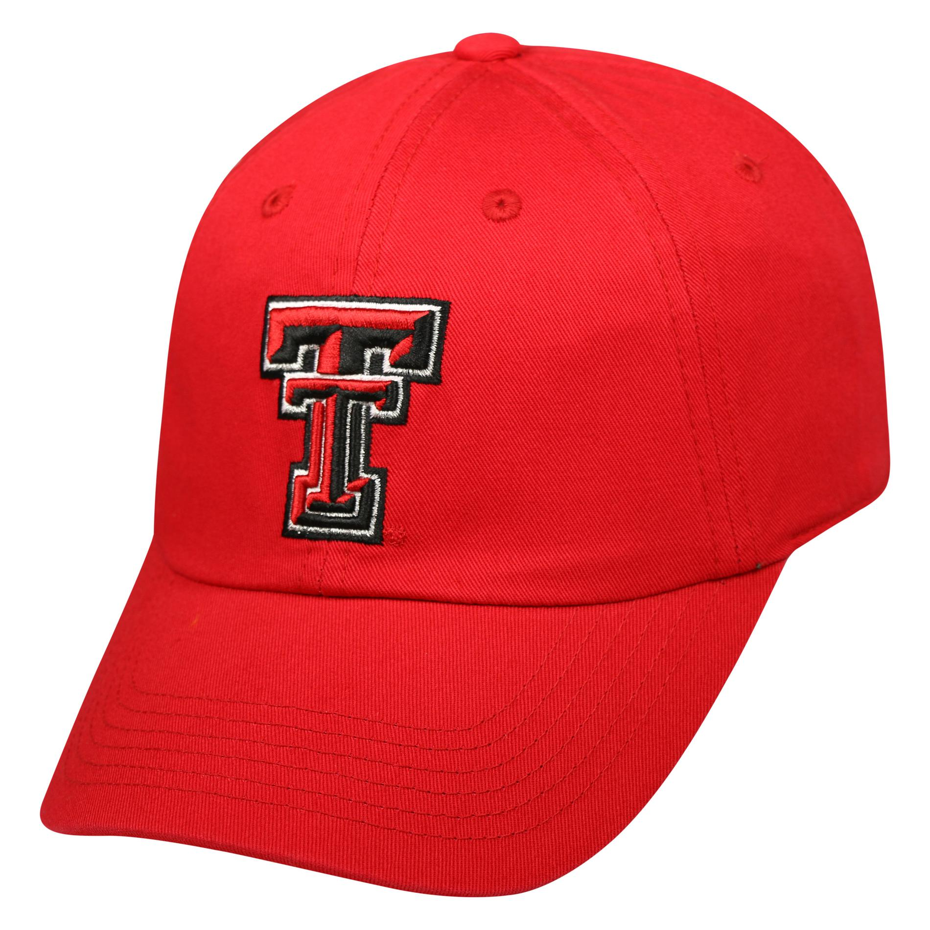 NCAA Women's Baseball Hat - Texas Tech University Red Raiders PartNumber: 046W009408744001P KsnValue: 9408744 MfgPartNumber: DAZL-WY-ADW-TMC