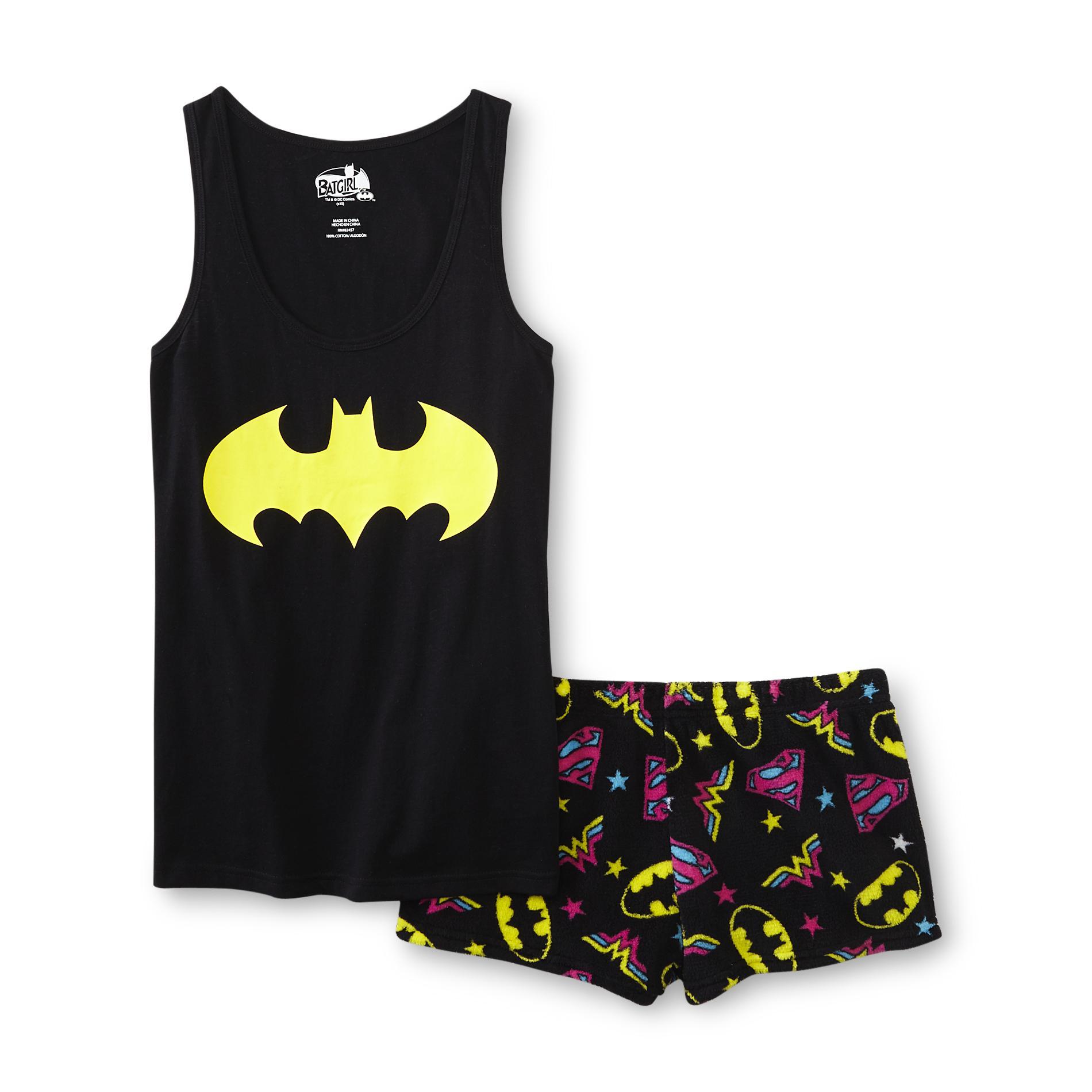 DC Comics Batman Women's Pajama Shorts & Tank Top