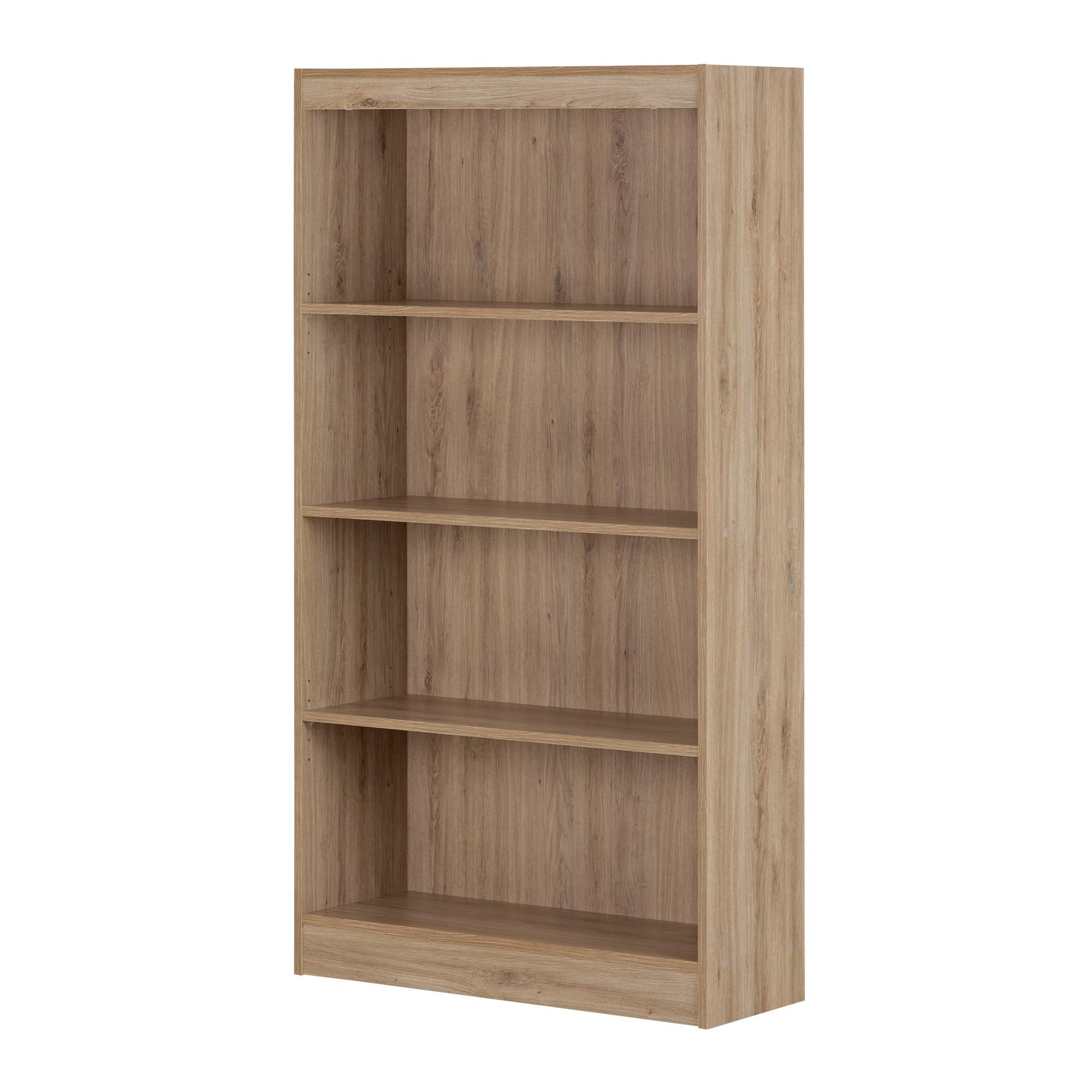 South Shore Axess 4-Shelf Bookcase, Country Green