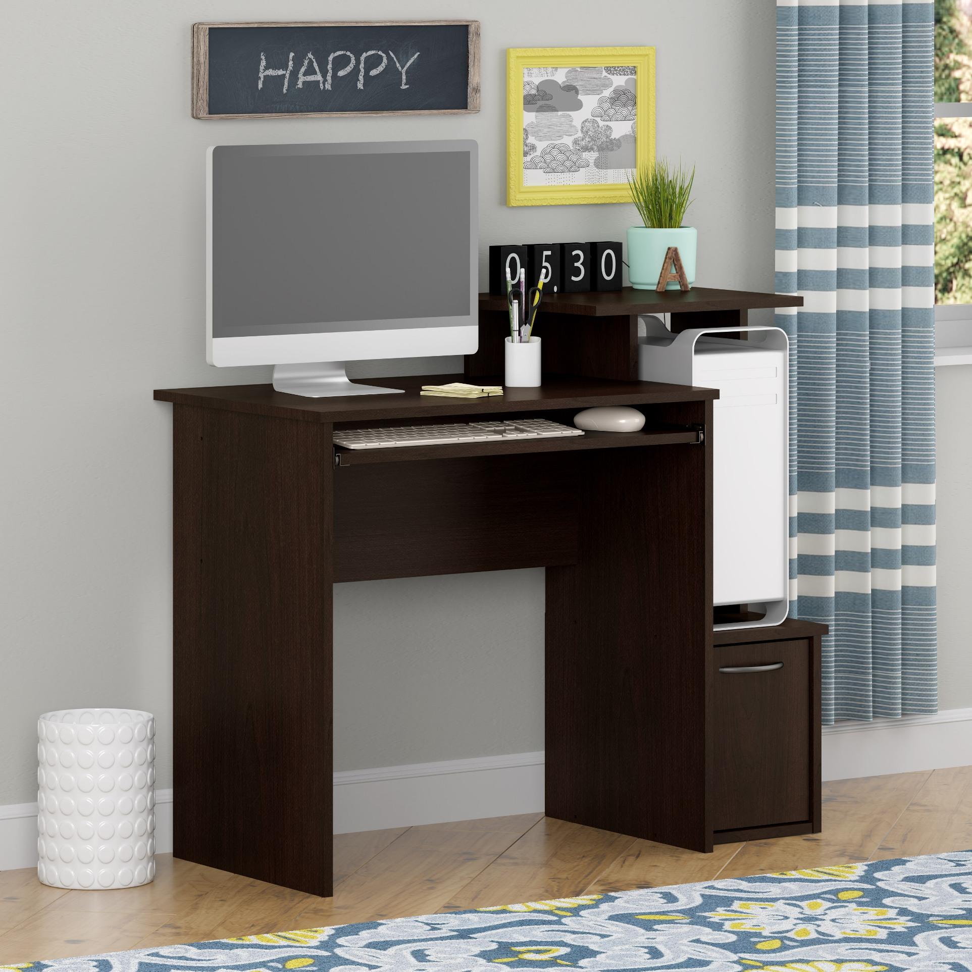 good to go computer desk cherry rh m kmart com Walmart Computer Desk Walmart L-shaped Computer Desk