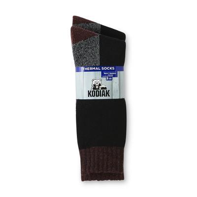 Kodiak Men's 2-Pairs Wool Blend Thermal Crew Socks