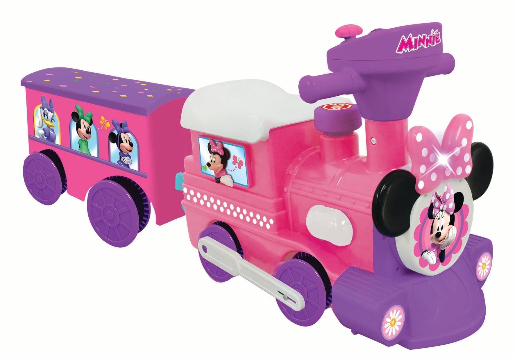 Disney Minnie Mouse Choo Choo Train With Tracks
