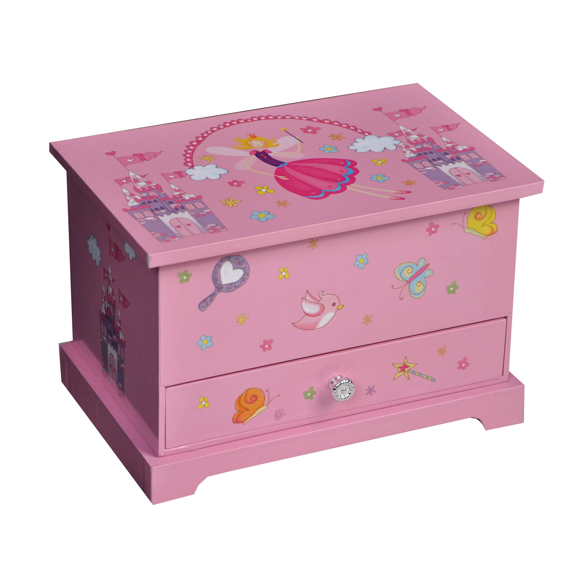 uxcell Kerri Girl's Musical Ballerina Jewelry box