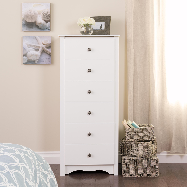 Kmart white dresser 6 draers
