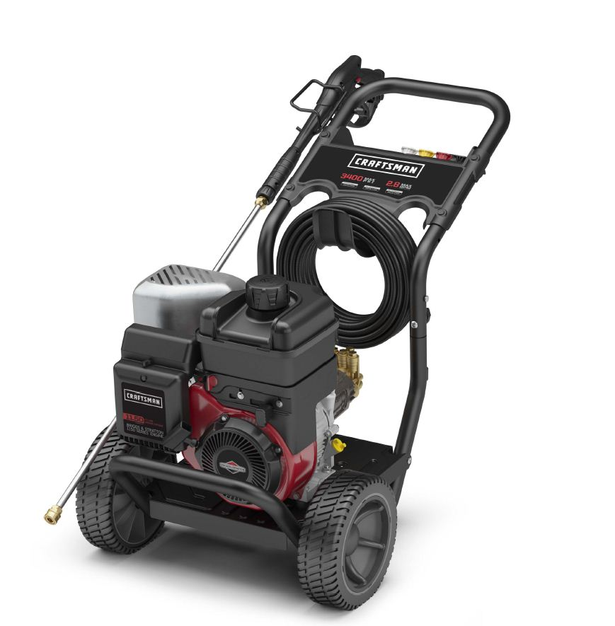 Craftsman 3400 PSI, 2.8 GPM Gas Pressure Washer