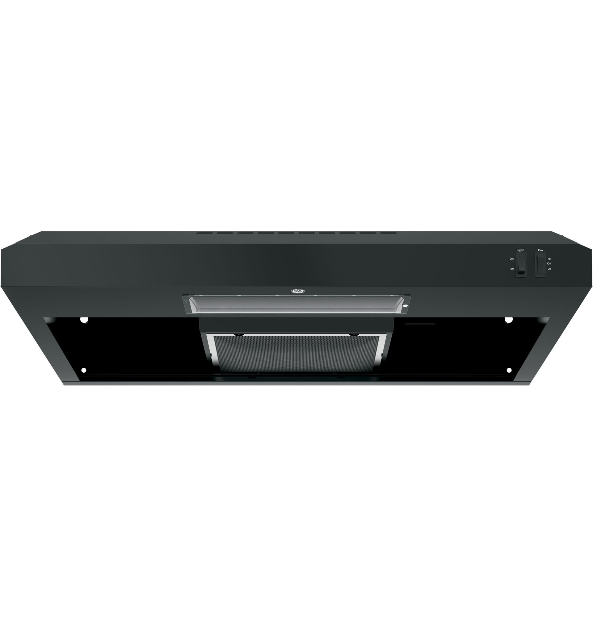 GE JVX3300DJBB 30 Under the Cabinet Range Hood - Black