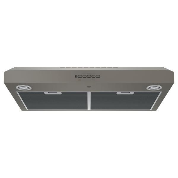 """GE Appliances JVX5300EJES  30"""" Under the Cabinet Range Hood - Slate"""