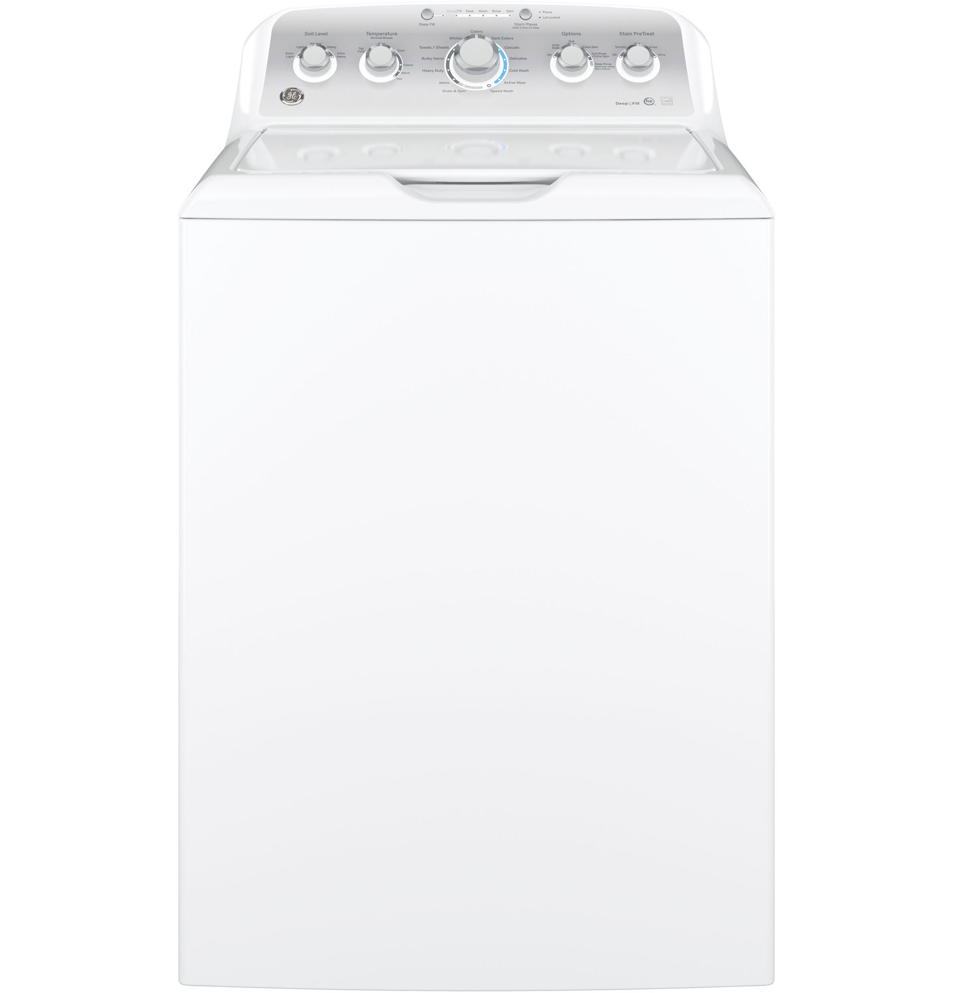 Hotpoint Top Loading Washing Machine Ge Appliances Gtw485asjws 42 Cu Ft Top Load Washer White