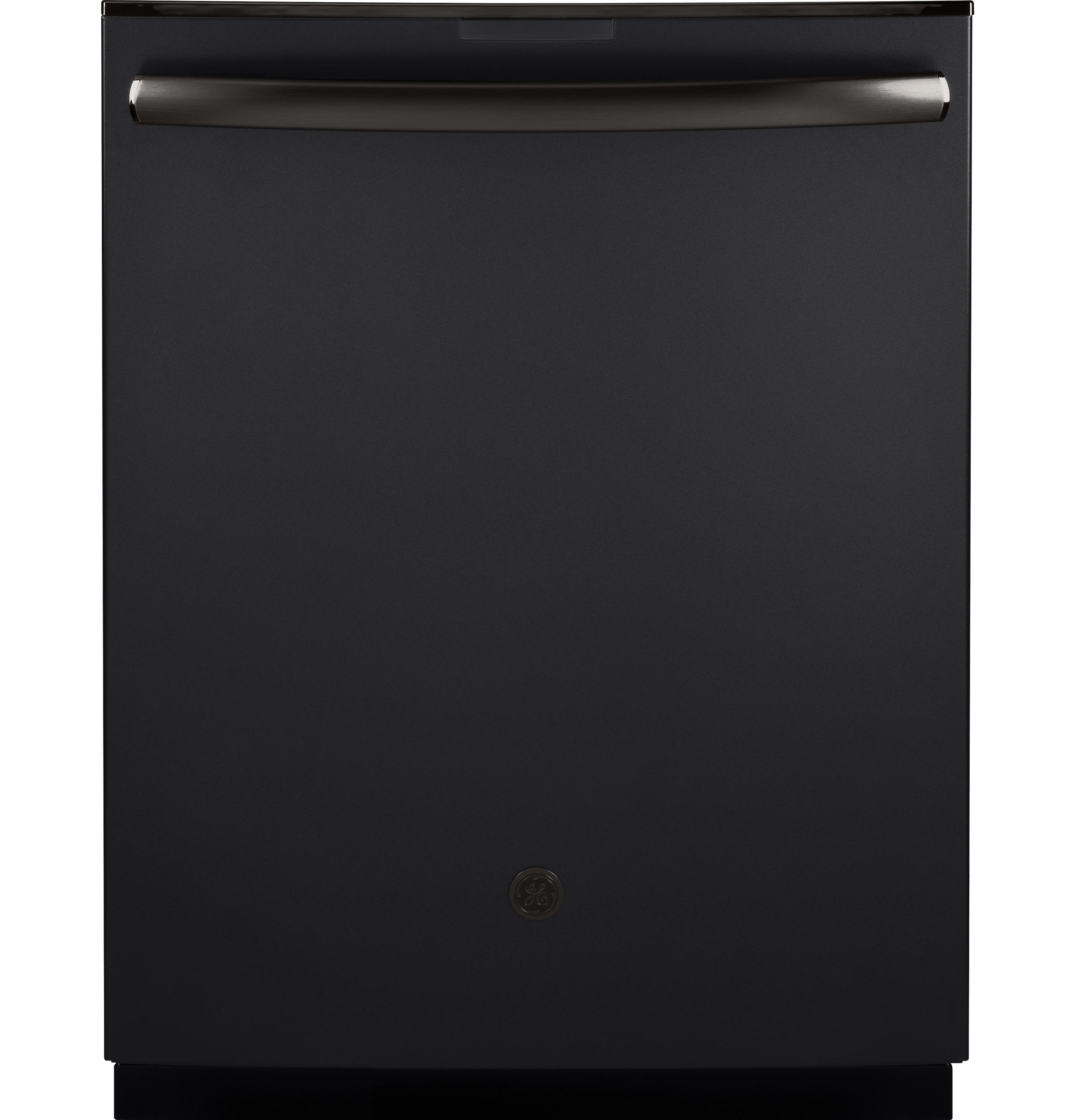 "Image of ""GE Profile Series PDT845SFLDS 24"""" Built-In Dishwasher with Hidden Controls - Black Slate, Black Slate"""