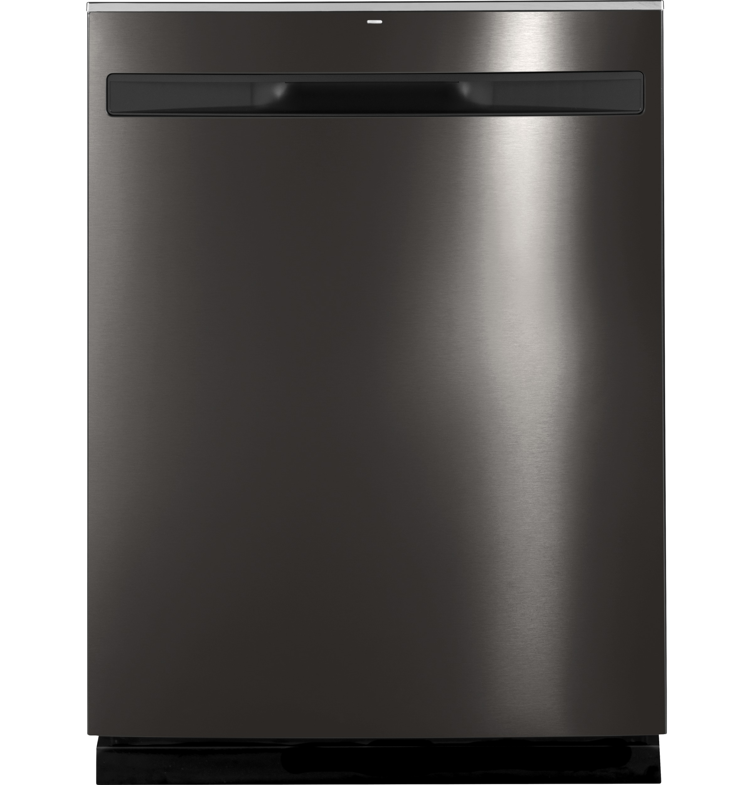 "GE Appliances GDP695SBMTS 24"""" Stainless Steel Interior Dishwasher - Black Stainless Steel"