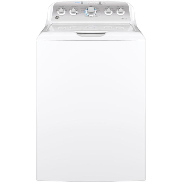 GE Appliances GTW500ASNWS 4.6 cu. ft. Washer with Stainless Steel Basket - White