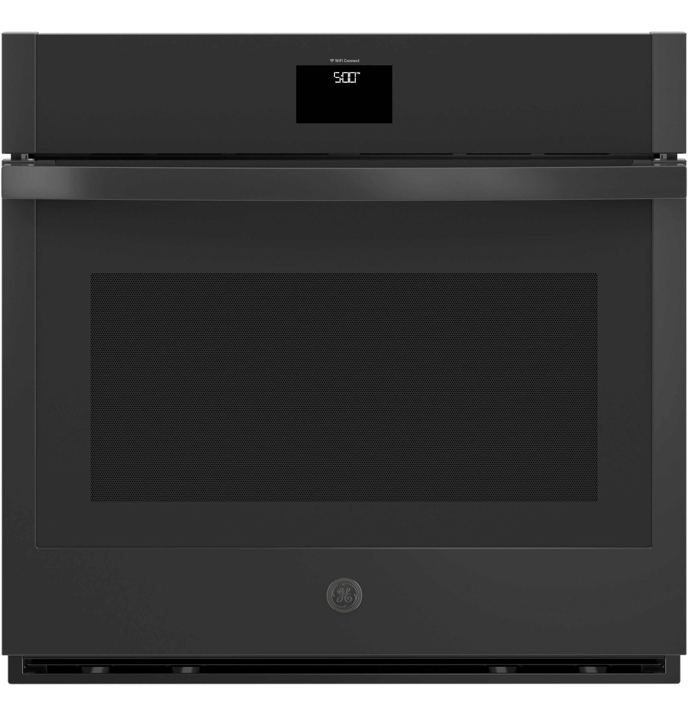"""Image of """"GE JTS5000DNBB 30"""""""" Built-In Convection Wall Oven - Black"""""""