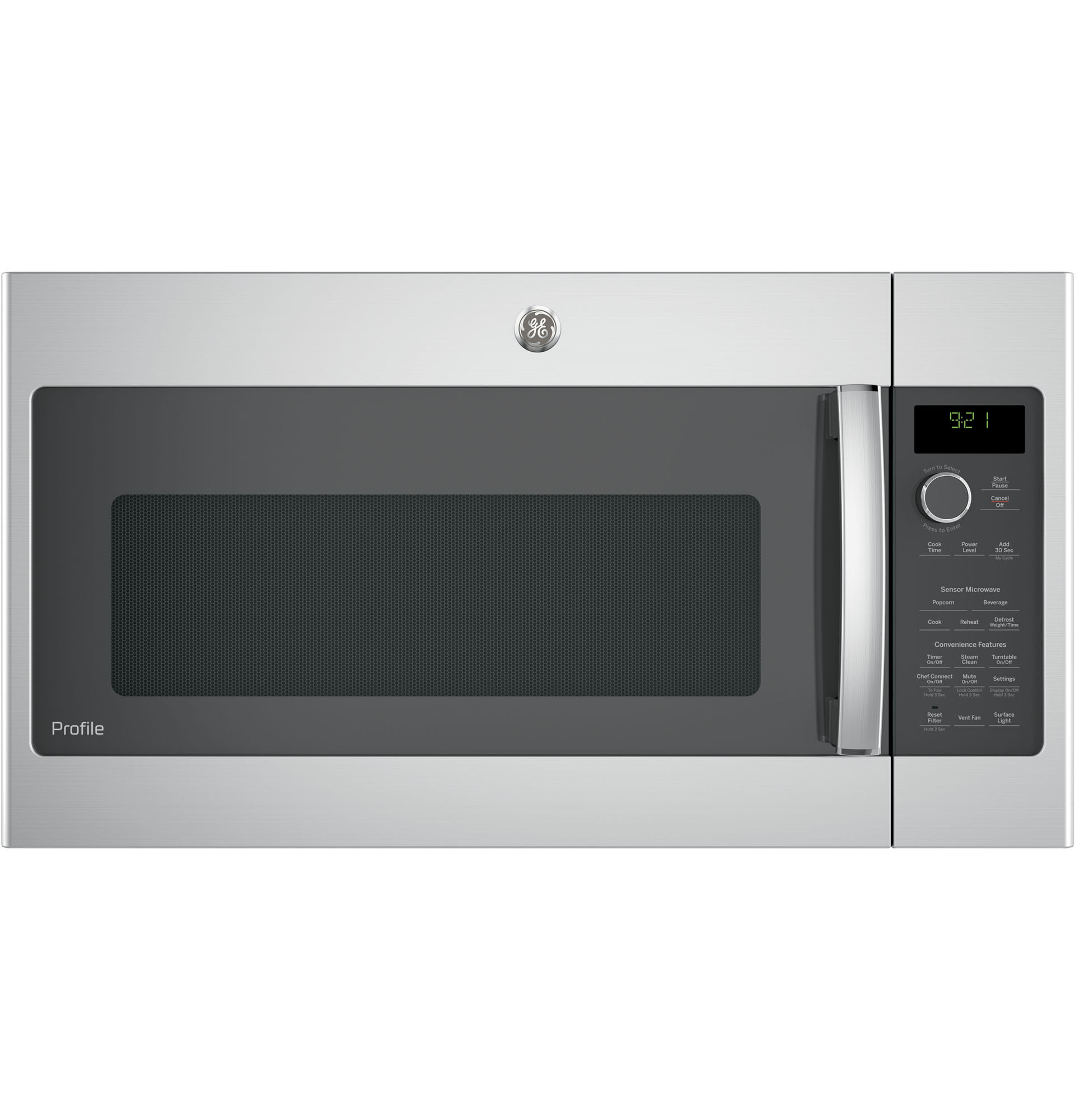 GE Profile™ Series PVM9215SKSS 2.1 cu. ft. Over-the-Range Microwave - Stainless Steel
