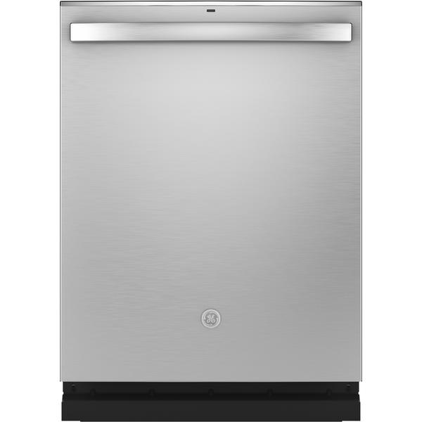 """GE Appliances GDT645SSNSS 24"""" Dishwasher w/ Hidden Controls - Stainless Steel"""