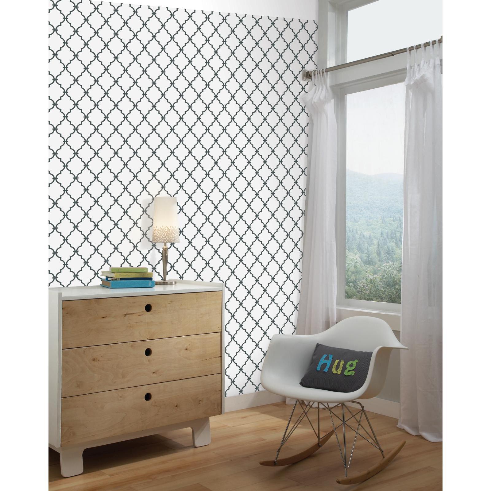 trellis peel and stick wall decor home home decor wall decor. Black Bedroom Furniture Sets. Home Design Ideas