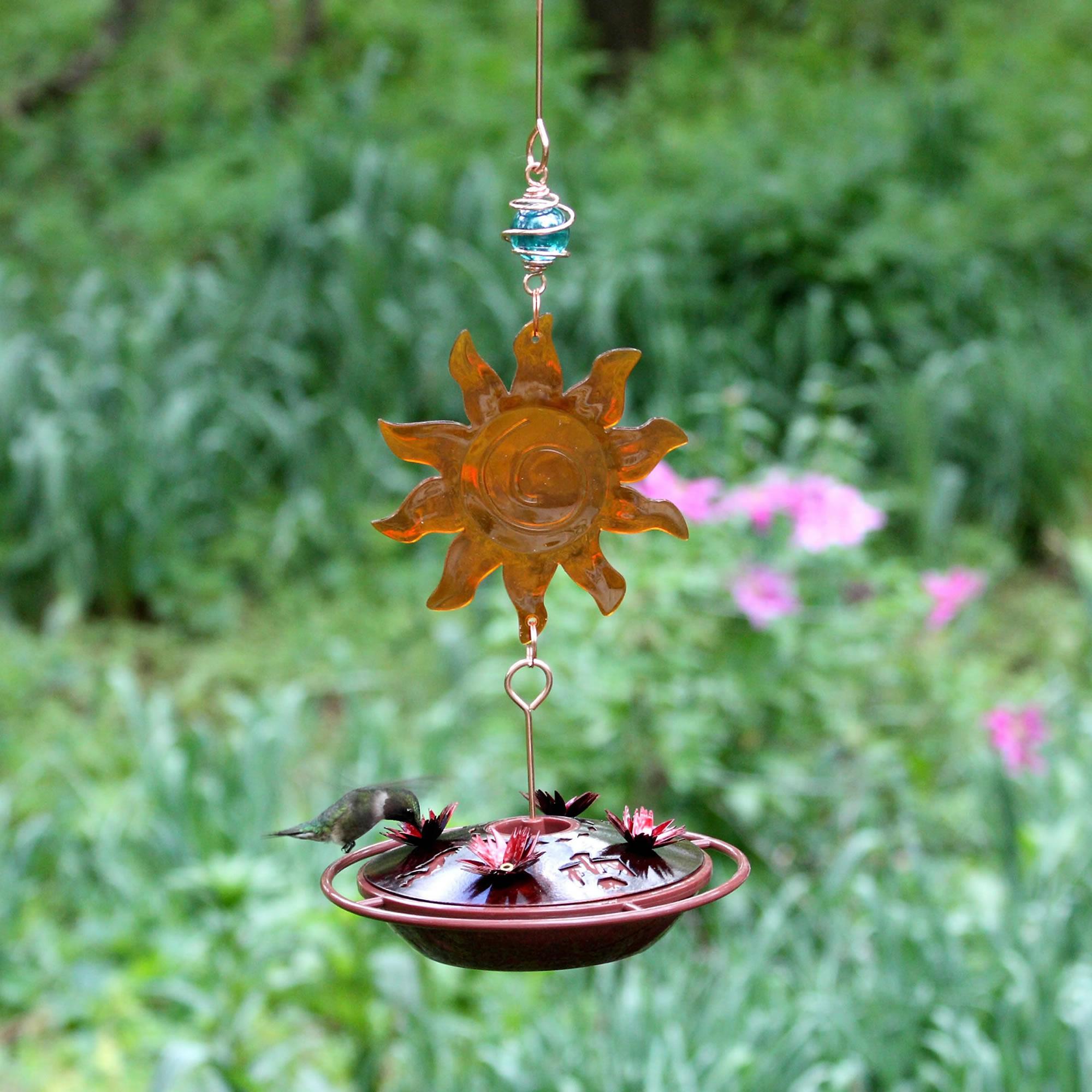 Avant Garden Sun Catcher Hummingbird Feeder Alternate Image