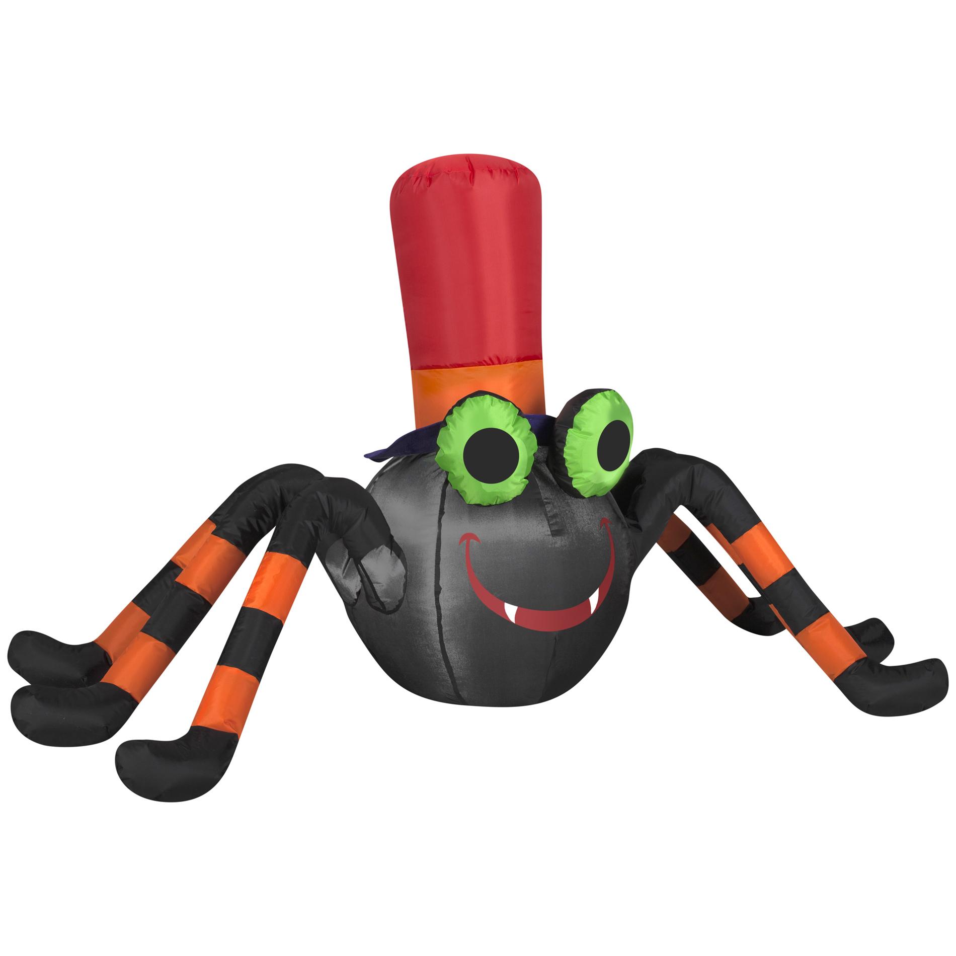 Halloween Single Icon Airblown Happy Spider Airblown 9.06 in