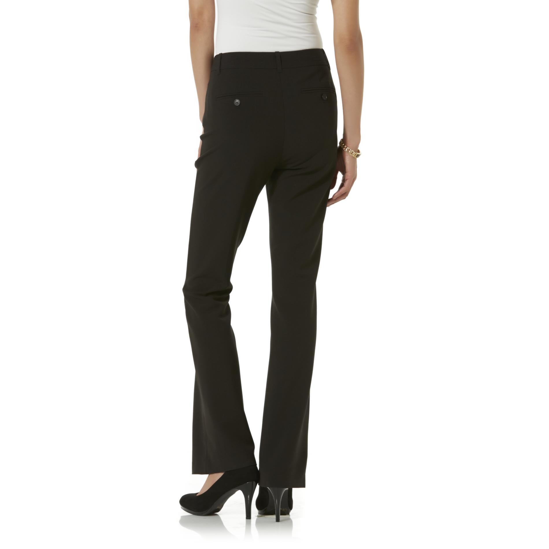 Jaclyn Smith Women's Straight Leg Trousers