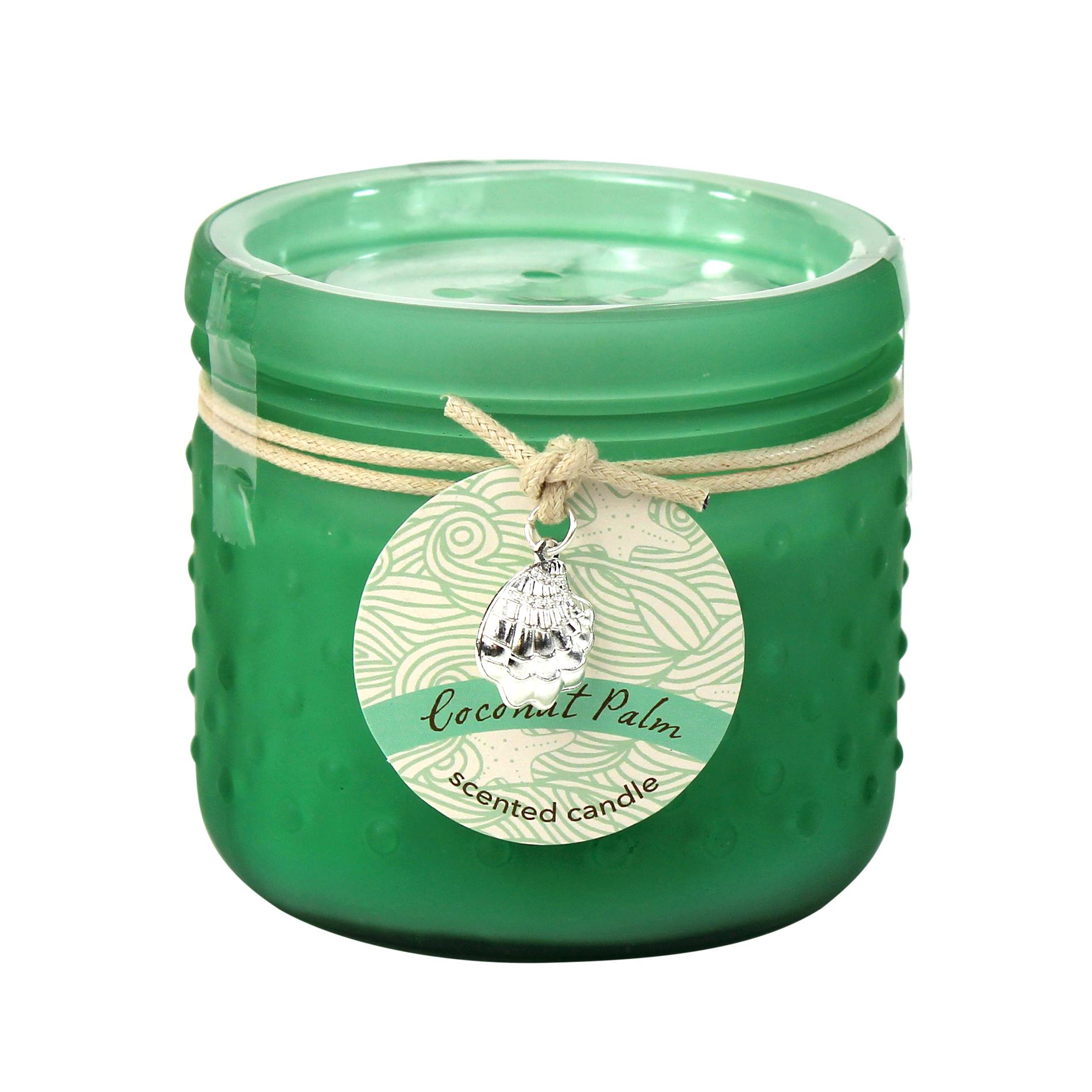 9 Oz. Hobnail Glass Scented Jar Candle - Coconut Palm PartNumber: 032W008429509001P KsnValue: 8429509 MfgPartNumber: KMT6641