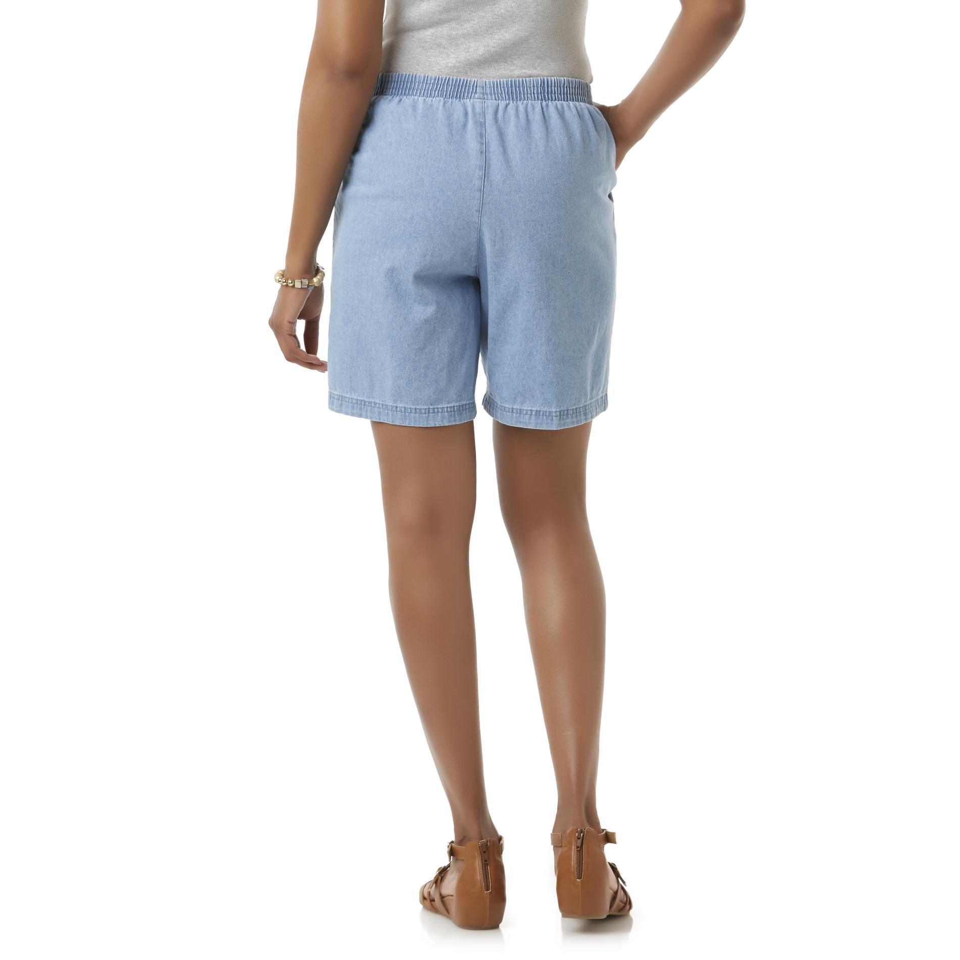 Basic Editions Women's Twill Shorts