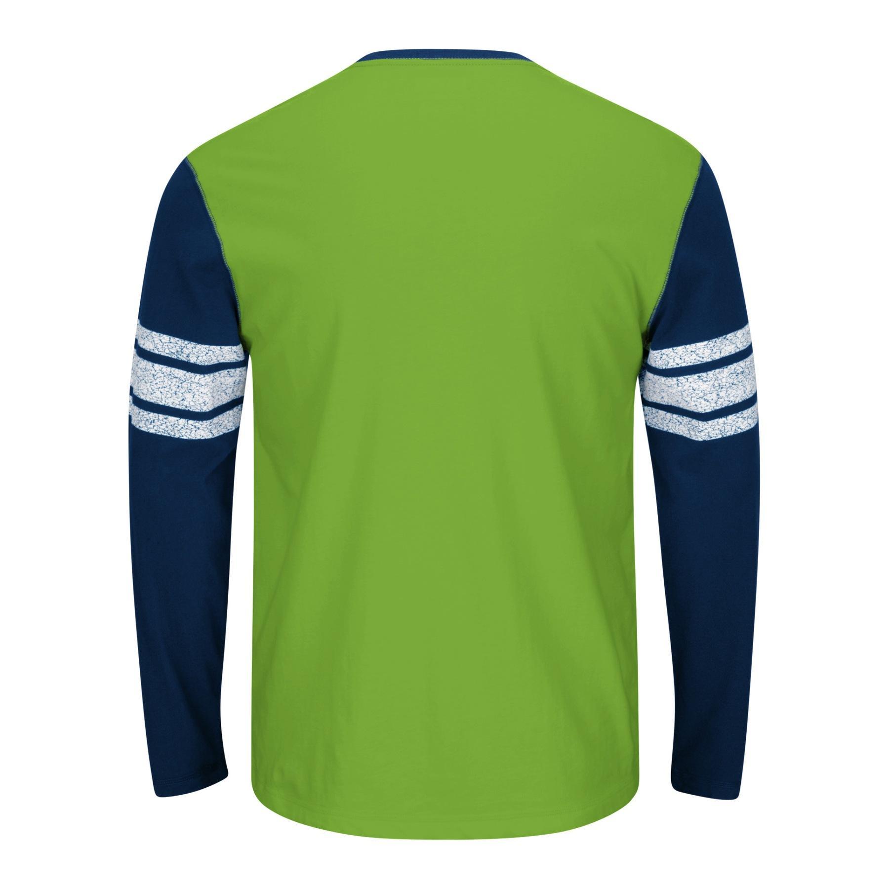 NFL Men's Raglan Shirt - Seattle Seahawks