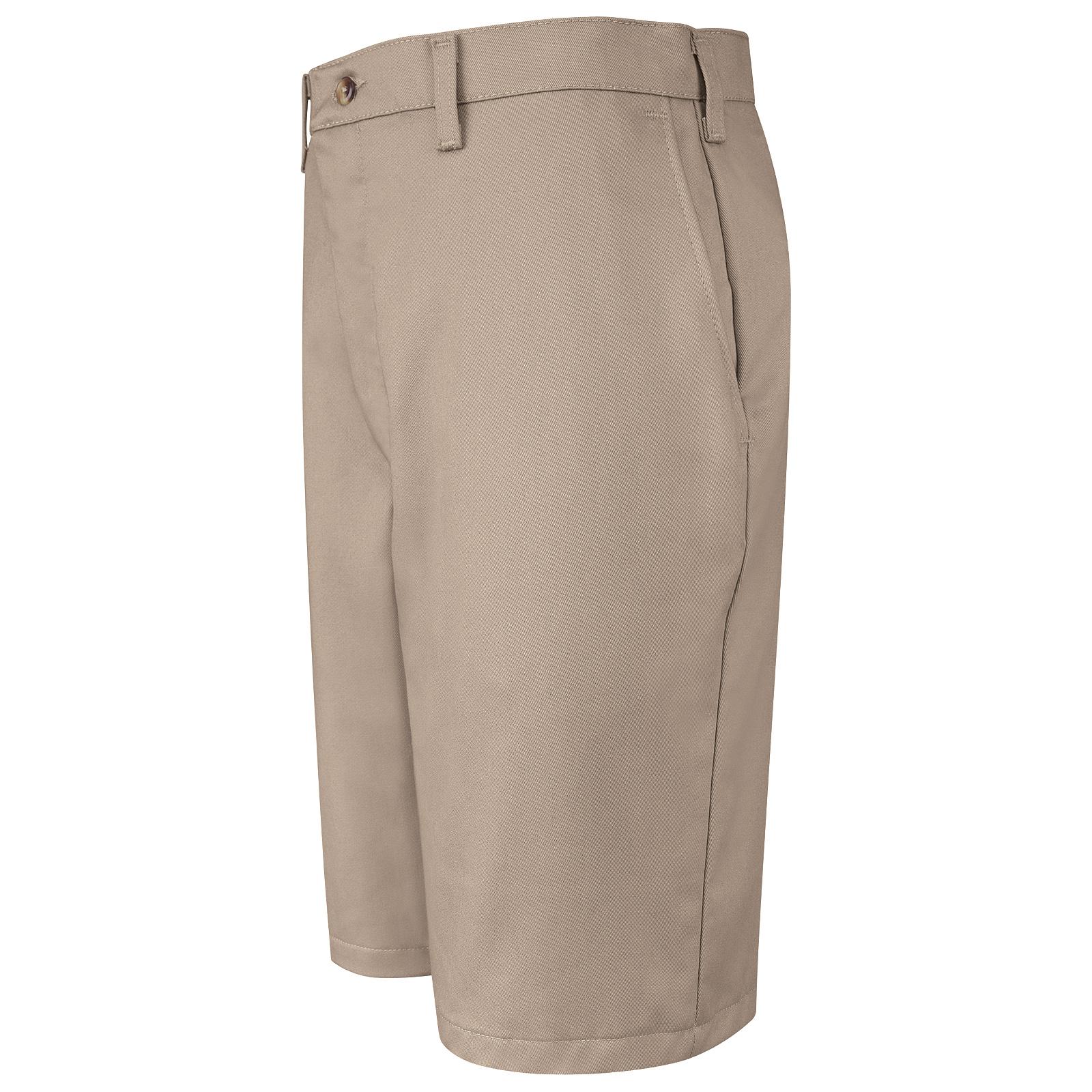 Men's Cotton Casual Plain Front Short