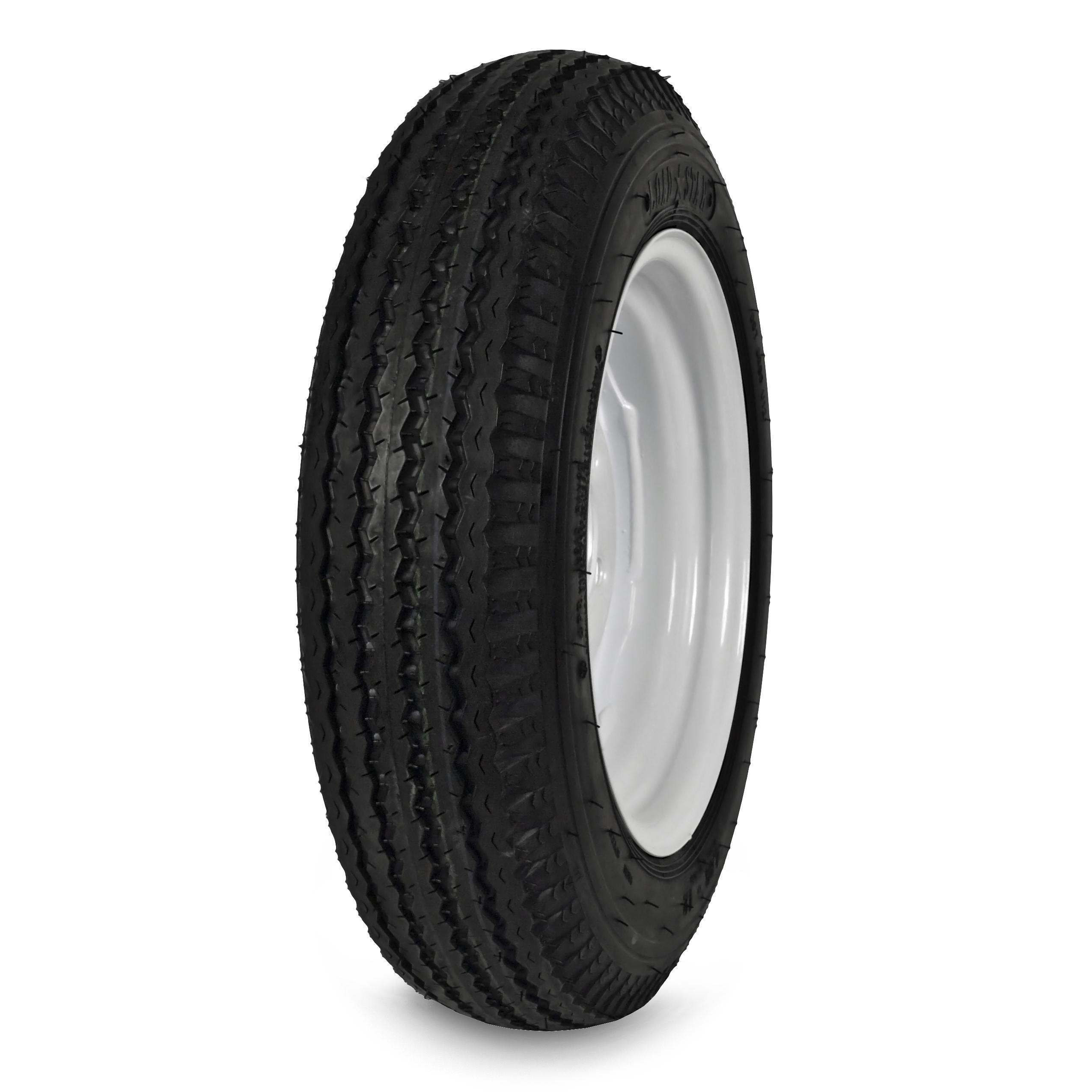 KENDA 408C-I Loadstar Highway Rated Trailer Tire - 480/400-8 Load Range C PartNumber: 07189291000P KsnValue: 8155729 MfgPartNumber: 408C-I
