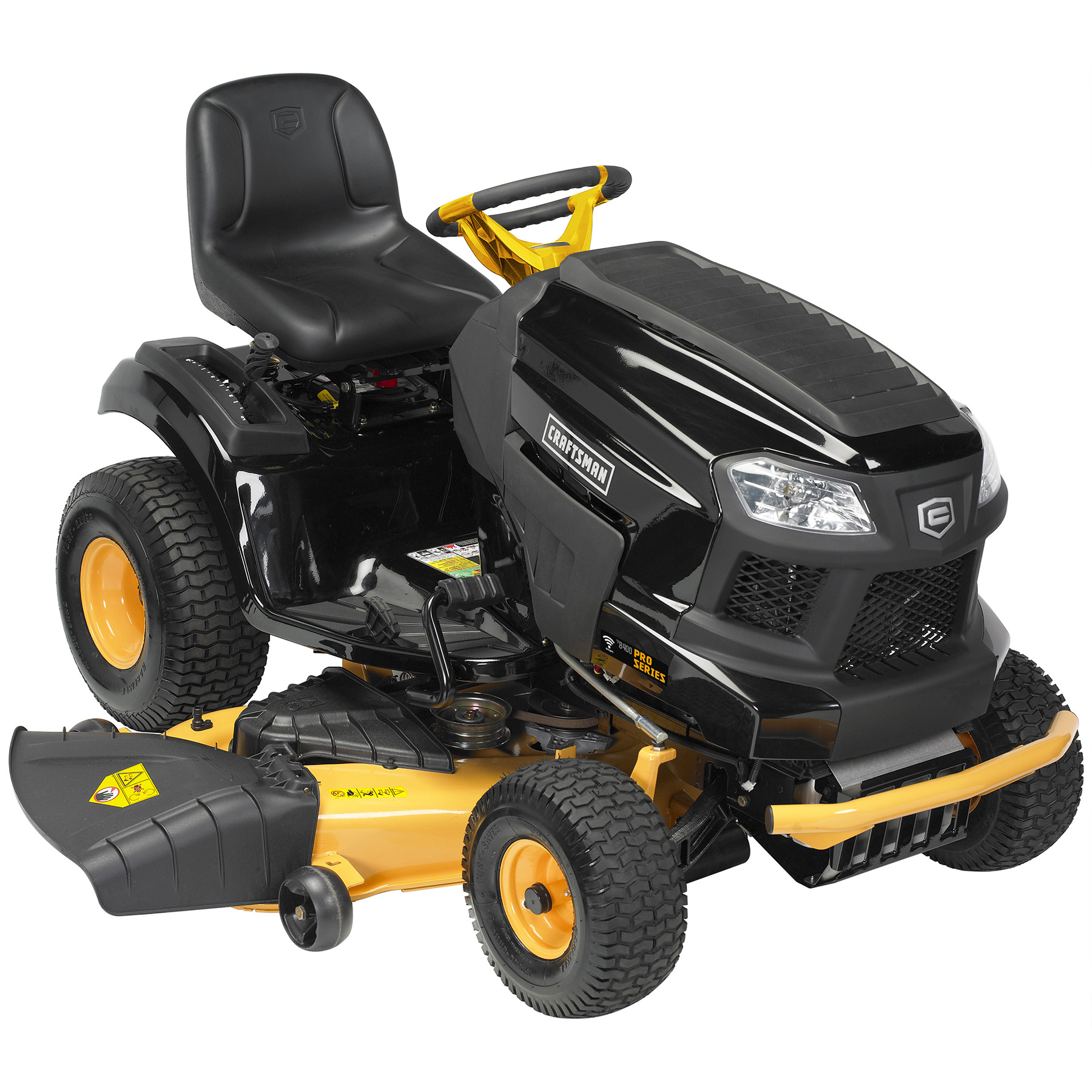 "Craftsman ProSeries 27044 54"""" 747cc Kohler Hydrostatic Riding Mower with Smart Lawn Technology"